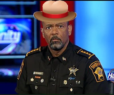 "Sheriff David Clarke ""AssHat Hall Of Shame Class 2016"""